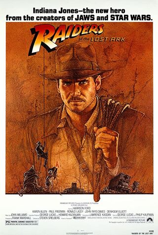 Raiders of the Lost Ark (1981) Main Poster