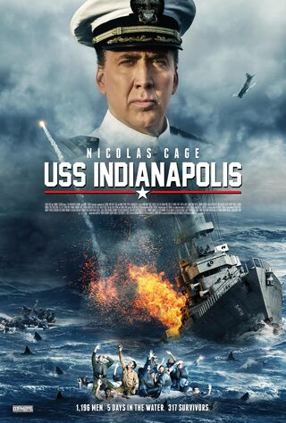 USS Indianapolis: Men Of Courage (2016) Main Poster