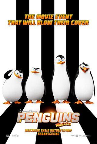 Penguins of Madagascar (2014) Main Poster