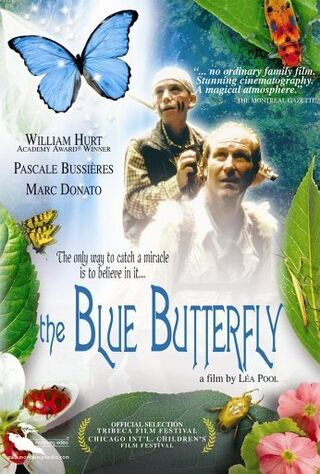 The Blue Butterfly (2004) Main Poster