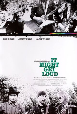 It Might Get Loud (2009) Main Poster