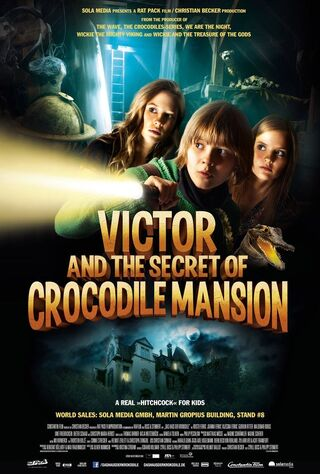 Victor And The Secret Of Crocodile Mansion (2012) Main Poster