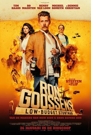 Ron Goossens, Low Budget Stuntman (2017) Main Poster