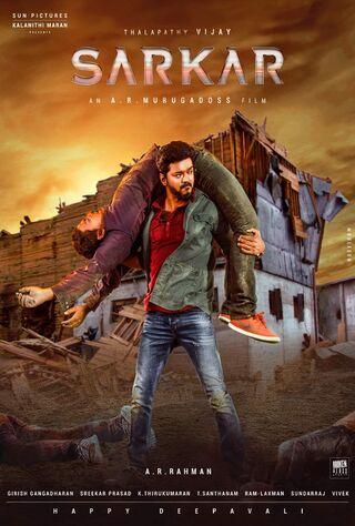 Sarkar (2018) Main Poster