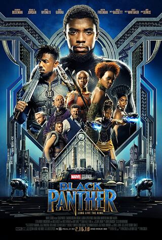 Black Panther (2018) Main Poster