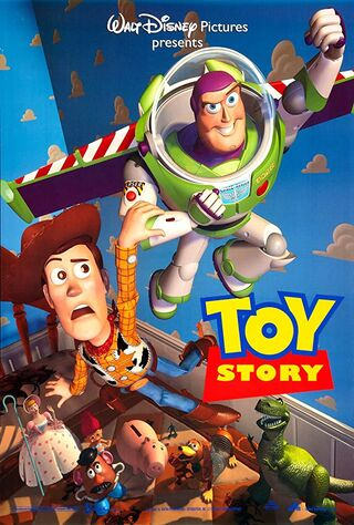 Toy Story (1995) Main Poster
