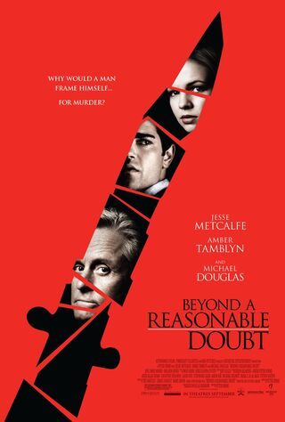Beyond A Reasonable Doubt (2009) Main Poster