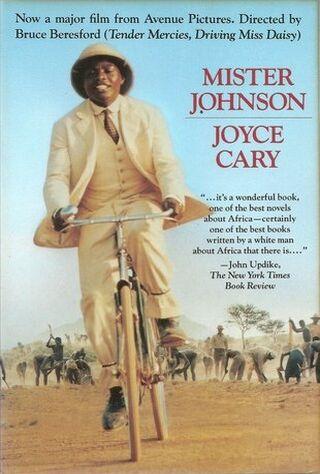 Mister Johnson (1991) Main Poster