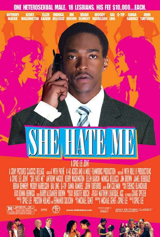 She Hate Me (2004) Poster #1