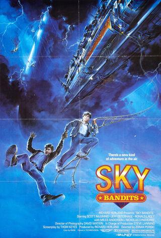 Sky Bandits (1986) Main Poster