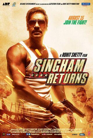 Singham Returns (2014) Main Poster