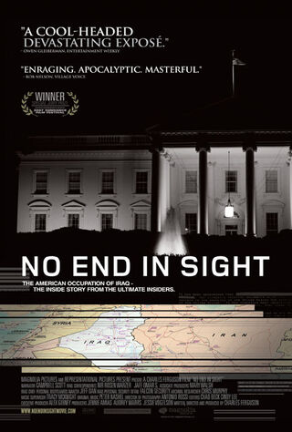 No End In Sight (2007) Main Poster