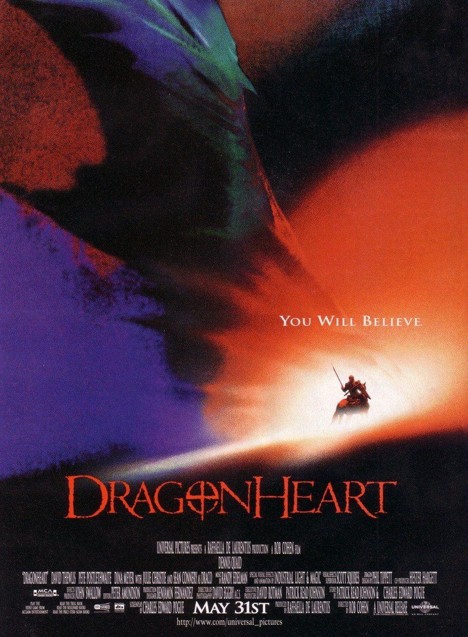 DragonHeart (1996) Main Poster