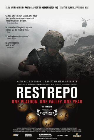Restrepo (2010) Main Poster