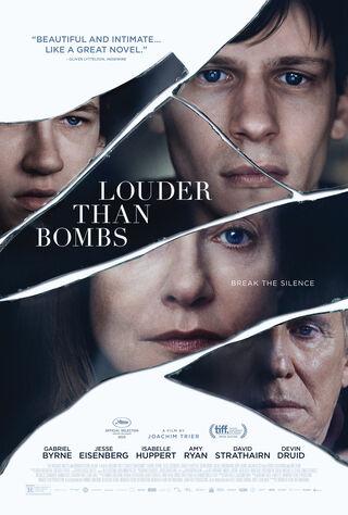 Louder Than Bombs (2015) Main Poster
