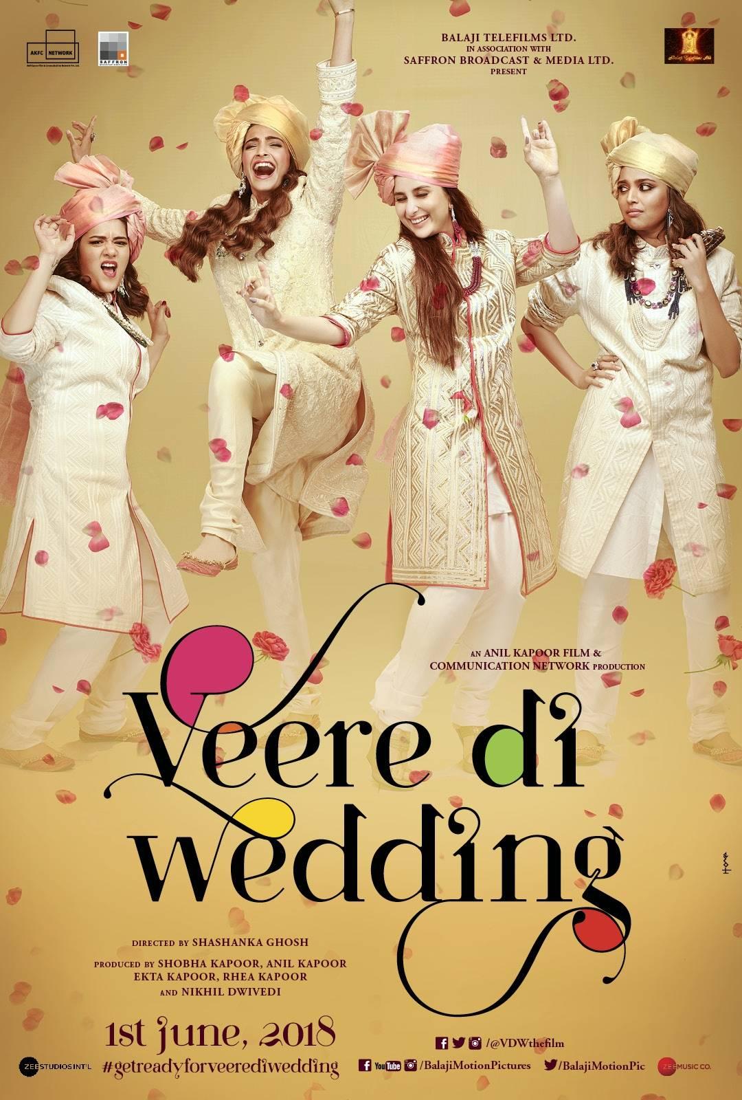 Veere Di Wedding (2018) Main Poster
