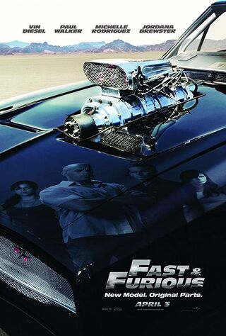 Fast & Furious (2009) Main Poster