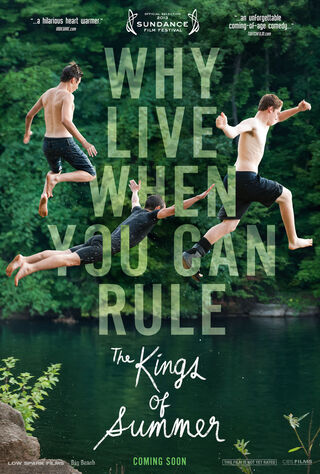 The Kings Of Summer (2013) Main Poster