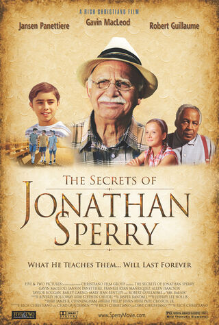 The Secrets Of Jonathan Sperry (2009) Main Poster