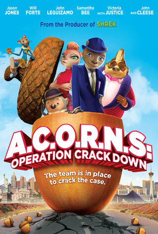 A.C.O.R.N.S.: Operation Crackdown (2016) Main Poster
