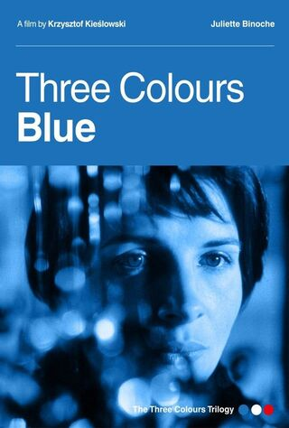 Three Colors: Blue (1993) Main Poster