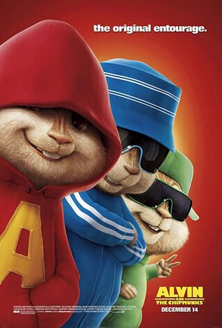 Alvin and the Chipmunks (2007) Main Poster