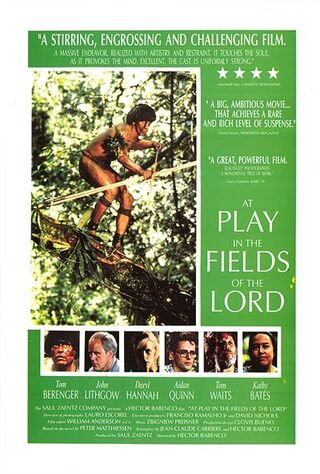 At Play In The Fields Of The Lord (1991) Main Poster