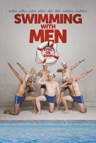 Swimming With Men (2018) Main Poster