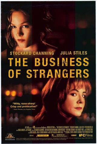 The Business Of Strangers (2001) Main Poster