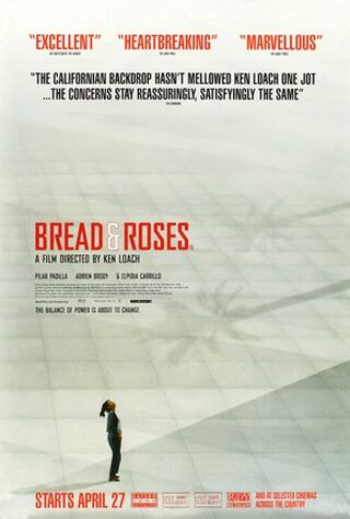 Bread And Roses (2000) Main Poster
