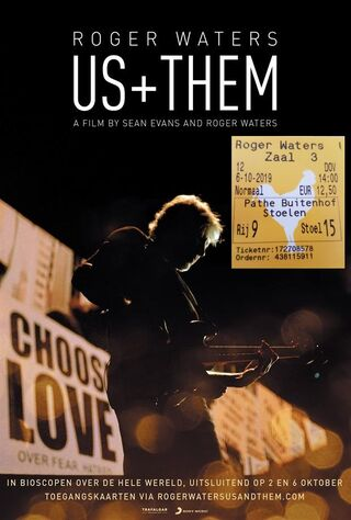Roger Waters - Us + Them (2019) Main Poster