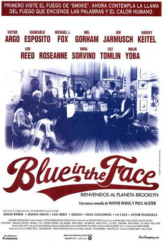Blue In The Face (1995) Main Poster