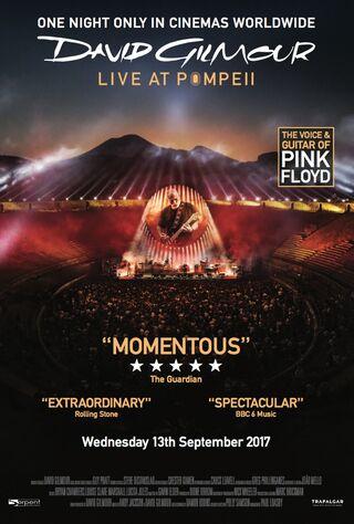 David Gilmour: Live At Pompeii (2017) Main Poster