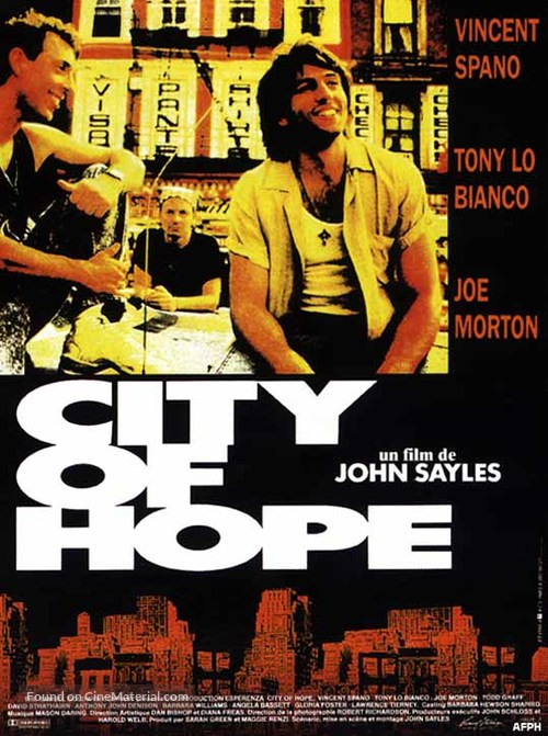 City Of Hope (1991) Poster #2