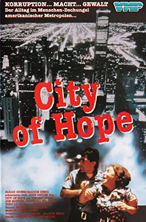 City Of Hope (1991) Poster #4