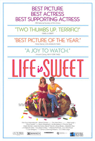 Life Is Sweet (1991) Main Poster