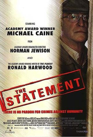 The Statement (2004) Main Poster