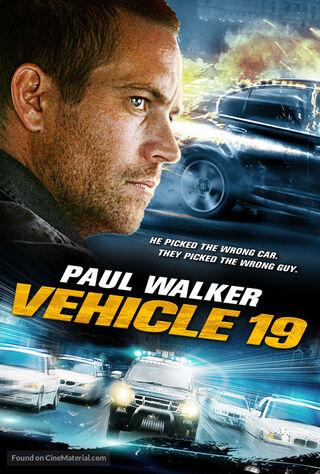 Vehicle 19 (2013) Main Poster