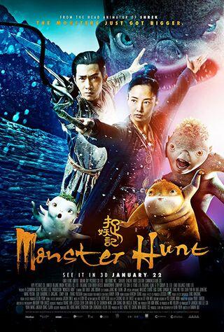 Monster Hunt (2016) Main Poster