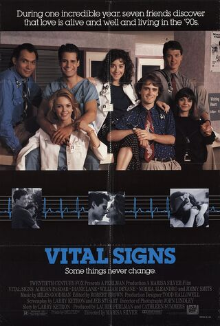 Vital Signs (1990) Main Poster