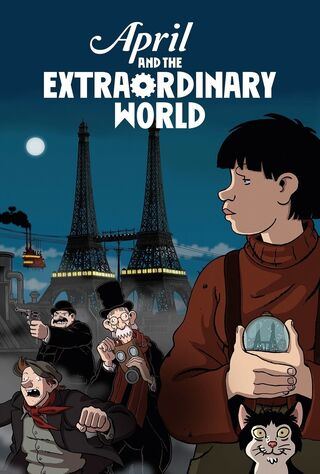 April And The Extraordinary World (2016) Main Poster