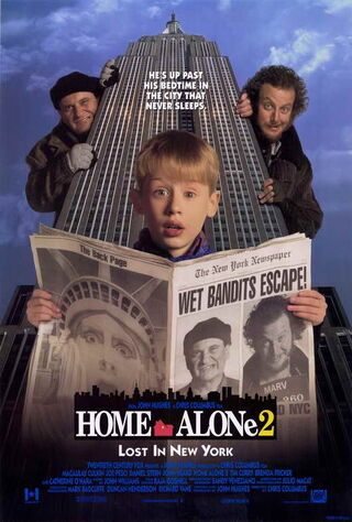 Home Alone 2: Lost in New York (1992) Main Poster