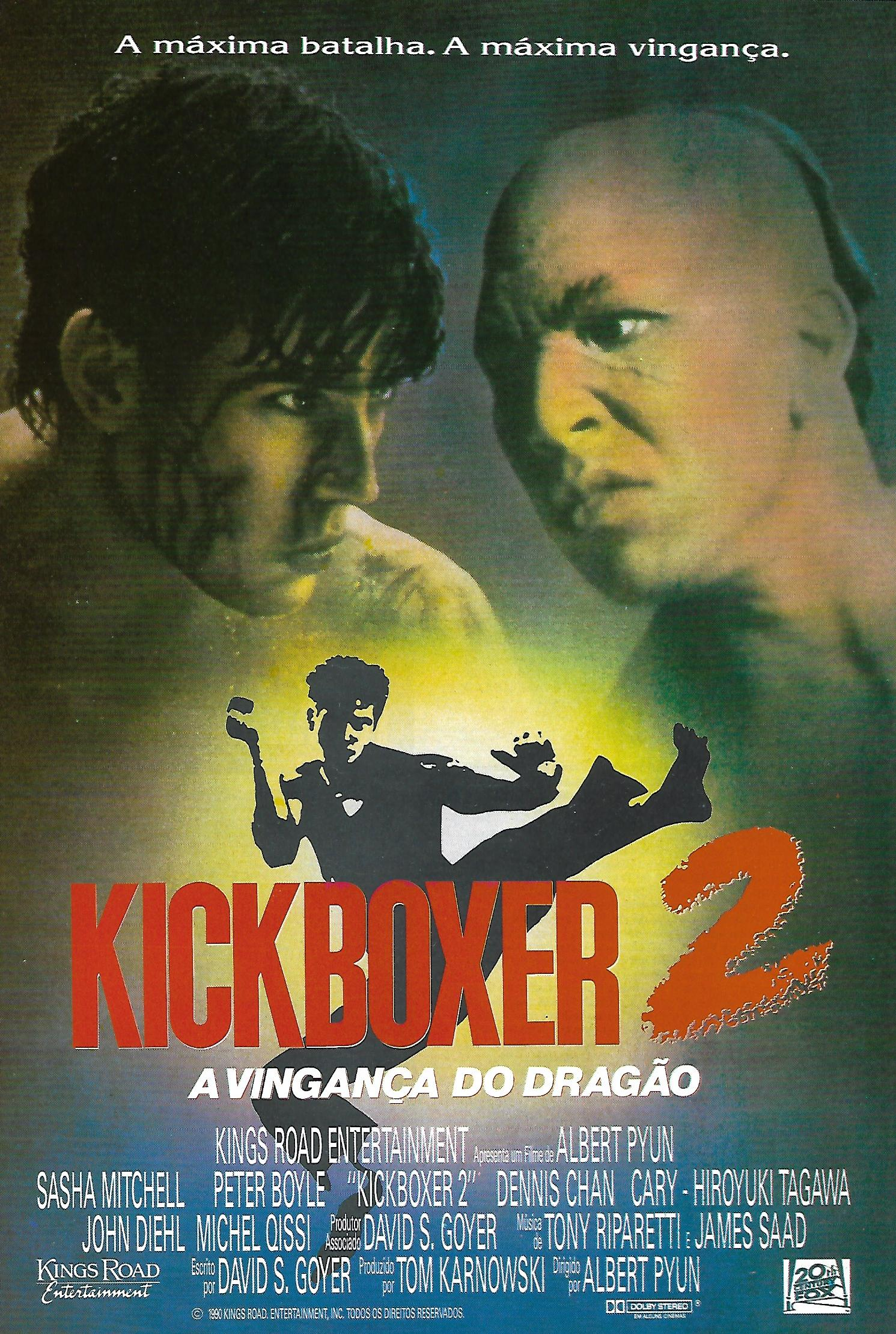 Kickboxer 2: The Road Back (1991) Main Poster