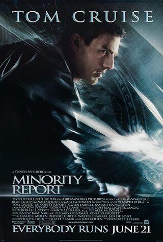 Minority Report (2002) Main Poster