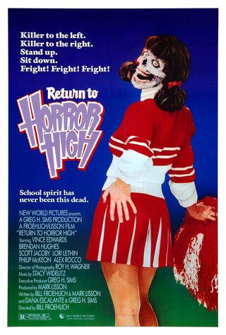 Return To Horror High (1987) Main Poster