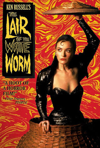 The Lair Of The White Worm (1988) Main Poster
