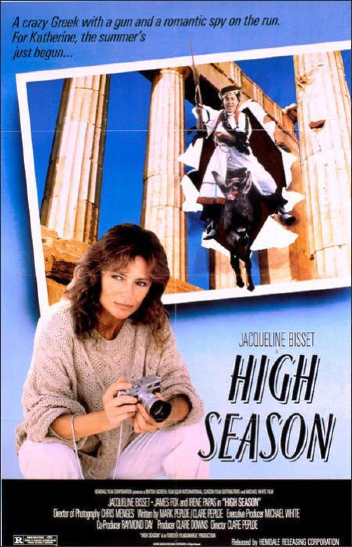 High Season (1988) Main Poster