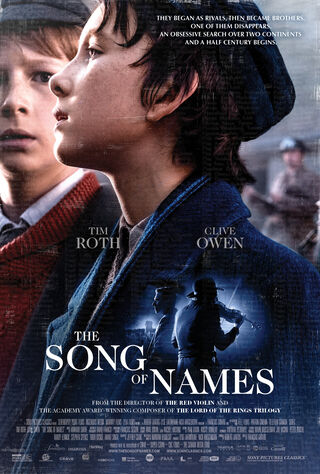 The Song Of Names (2019) Main Poster