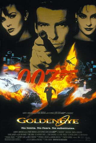 GoldenEye (1995) Main Poster
