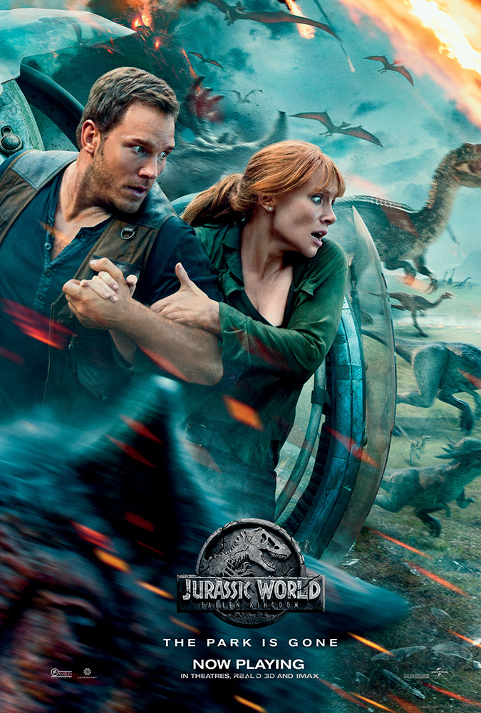 Jurassic World: Fallen Kingdom (2018) Main Poster